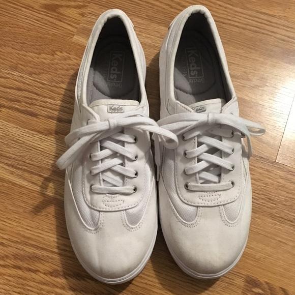 Keds Shoes   White Memory Foam Footbed